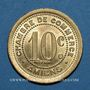 Münzen Amiens (80). Chambre de Commerce. 10 centimes 1921. Essai