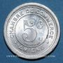 Münzen Amiens (80). Chambre de Commerce. 5 centimes 1921