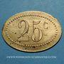 Münzen Amiens (80). Société Coopérative de l'Atre. 25 centimes