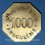 Münzen Angoulême (16). Société du Riz Lacroix (La +). 1000