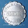 Münzen Angoulême (16). Société du Riz Lacroix (La +) - Paquetage. sans valeur, aluminium
