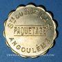 Münzen Angoulême (16). Société du Riz Lacroix (La +) - Paquetage. sans valeur. Laiton