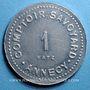 Münzen Annecy (74). Comptoir Savoyard. 1 franc