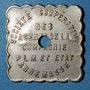Münzen Annemasse (74). Société Coopérative des Agents de la Compagnie P.L.M. 1 kilo pain. Contremarqué
