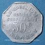 Münzen Annonay (07). Société Coopérative La Laborieuse. 50 centimes