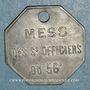 Münzen Artillerie. 56e R.A.C., Mess des Sous-Officiers. Montpellier, Castres. 20 cmes