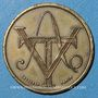Münzen Aubenas (07). Société Ardéchoise des Tramways Electriques. 25 centimes