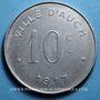 Münzen Auch (32). Ville. 10 centimes 1917