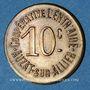 Münzen Auzat-sur-Allier (63). Coopérative l'Entraide. 10 centimes