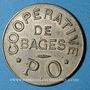 Münzen Bagès (66). Coopérative. 2 francs