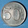 Münzen Bagès (66). Coopérative. 50 centimes