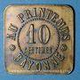 Münzen Bayonne (64). Au Printemps. 10 centimes 1902
