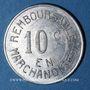 Münzen Bayonne (64). Droguerie Canton. 10 centimes