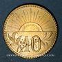 Münzen Beaucourt (90). Coopérative Alimentaire. 10 centimes