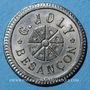Münzen Besançon (25). G. Joly. 75 centimes à consommer