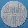 Münzen Béziers (34). Café de la Paix. sans valeur