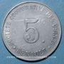 Münzen Boulogne Billancourt (92). Sté des Usines Renault. 5 centimes