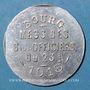 Münzen Bourg-en-Bresse (01). Mess des Sous-Officiers du 23e. Bourg. 10 centimes 1918