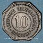 Münzen Bouzonville (57, Lorraine) (Busendorf), Lothringer Walzengiesserei. 10 pfennig
