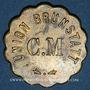 Münzen Brunstatt (68). Cercle musical - Union Brunstatt. sans valeur (pour la bière)
