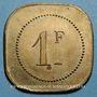 Münzen Cannes (06). Brasserie du Casino. 1 franc