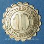 Münzen Châlons-sur-Marne (51). Société de Consommation de l'Est. Boulangerie. 10 centimes