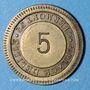 Münzen Clermont-Ferrand (63), L'Idéal Automatic (5 place de Lille), 25 cmes