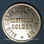 Münzen Colmar (68). Allgemeine Consum Genossenschaft Controlle. 1 mark