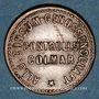 Münzen Colmar (68). Allgemeine Consum Genossenschaft Controlle. 1 pfennig (1890-1898)