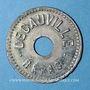 Münzen Corbeil-Essonnes (91). Decauville (Usine de chemins de fer portatifs). 1/4 vin