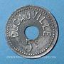 Münzen Corbeil-Essonnes (91). Decauville (Usine de chemins de fer portatifs). 5 centimes