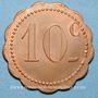 Münzen Couëron (44). Usines. 10 centimes