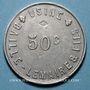 Münzen Crosne (91). Usine Baille-Lemaire et Fils. 50 centimes