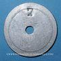 Münzen Gennevilliers (92). Bureau de Bienfaisance. Bon pour un sac de charbon. Chiffre 7 /revers