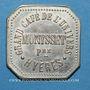Münzen Hyères (83). Grand Café de l'Univers - Monysset. 10 centimes