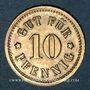 Münzen Illkirch-Graffenstaden (67). Consum-Genossenschaft (1873-79). 5 pfennig