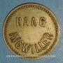 Münzen Ingwiller (67). Brasserie Haag. Un demi