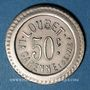 Münzen La Garenne-Colombes (92). Loubet. 50 centimes