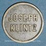 Münzen Mulhouse (68). Joseph Klintz, restaurant. 16 (pf)