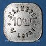 Münzen Saint-Just-Saint-Rambert (42). Saint Rambert S/Loire. 10 centimes / légumes