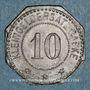 Münzen Wissembourg (67). Ville. 10 pfennig 1917