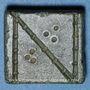 Münzen Byzance. Poids monétaire de 1 nomisma. 5e-6e siècle
