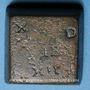 Münzen Espagne. Charles Quint (1516-1556). Poids monétaire de la quadruple pistole