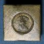 Münzen Espagne. Poids monétaire de 4 réaux de Ferdinand et Isabelle (1474-1504). Fabrication française