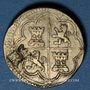 Münzen Espagne. Poids monétaire de 4 réaux de Philippe II à Philippe V. Poinçon de contrôle Lespée, Reims