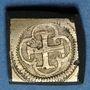 Münzen Espagne. Poids monétaire de la pistole de Charles Quint au milieu du XVIIIe