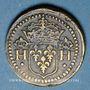 Münzen Henri III (1574-1589). Poids monétaire du teston