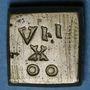 Münzen Henri IV (1589-1610). Poids monétaire du quart d'écu, 5e type