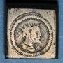 Münzen Italie. Milan. Poids monétaire du 1/4 de ducaton de Philippe III et Philippe IV