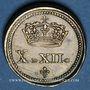 Münzen Louis XIII (1610-1643) et Louis XIV (1643-1715). Poids monétaire du double louis, de 1640 à 1704
